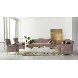 Southsea 4 Piece Living Room Set by Rosdorf Park