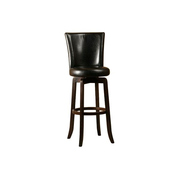 Shipyard 29.75 Swivel Bar Stool by Red Barrel Studio