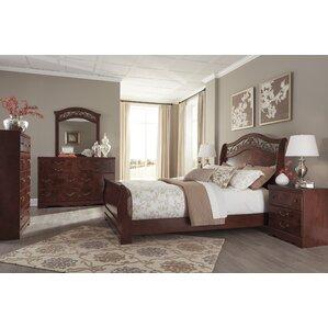Clevenger Sleigh Bed by Fleur De Lis L..