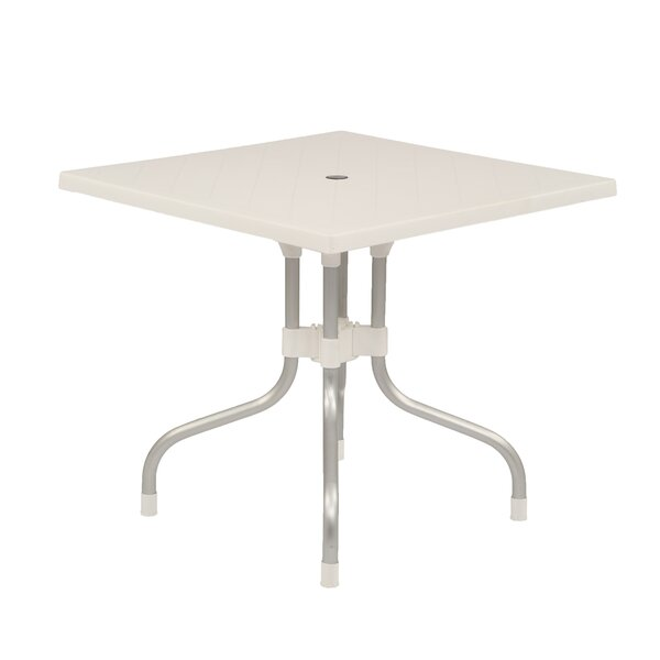 Keene Commercial Grade Folding Aluminum Dining Table by Winston Porter