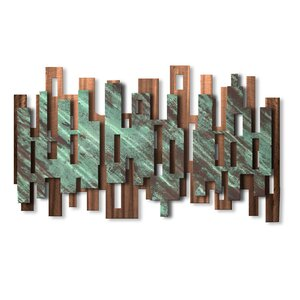 'Elevate' by Ash Carl Graphic Art Plaque by All My Walls