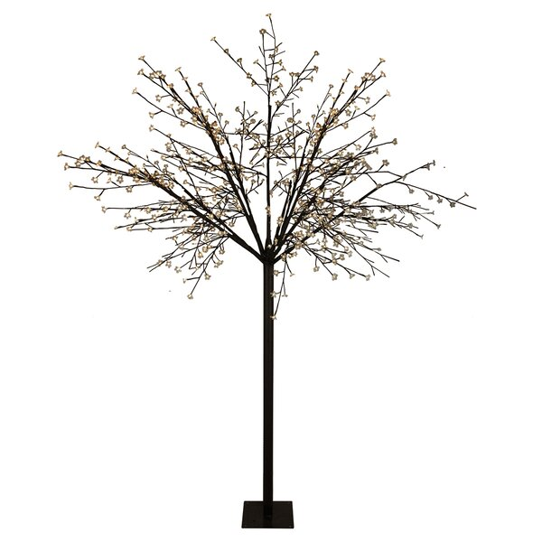 LED Lighted Commercial Cherry Blossom Flower Tree by Andover Mills
