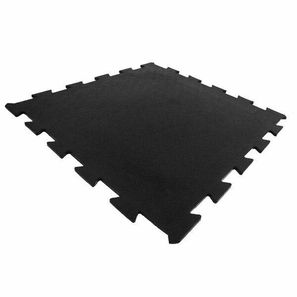 Armor Lock Interlocking Rubber Mat (Set of 4) by Rubber-Cal, Inc.