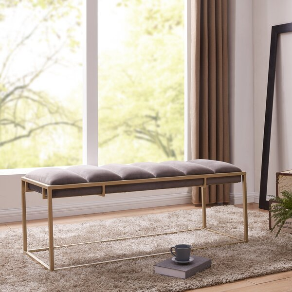 Livia Upholstered Bench by Mercer41