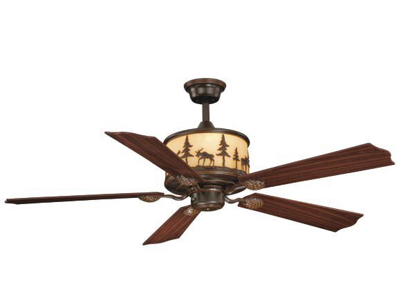 Josefina 5-Blade Ceiling Fan by Loon Peak