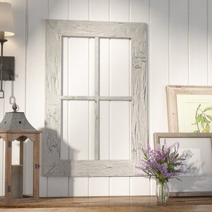 Rustic Window Frame Wall Décor