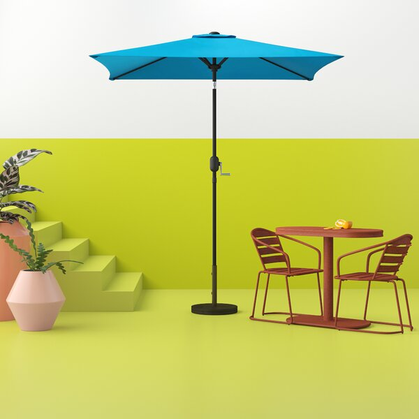 Tempo Patio 6.5' Square Market Umbrella By Hashtag Home
