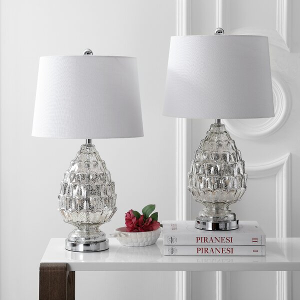 Mutchler Artichoke 26 Table Lamp (Set of 2) by House of Hampton