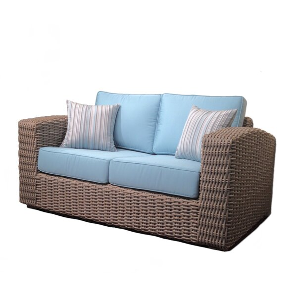 Monaco Loveseat with Cushions by ElanaMar Designs