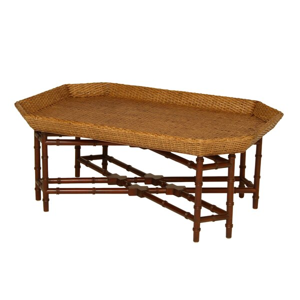 Rene Coffee Table With Tray Top By Bayou Breeze