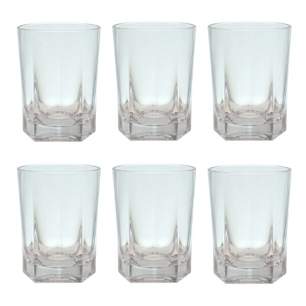 Mcanally 14 oz. Plastic Every Day Glasses (Set of 6) by Ebern Designs