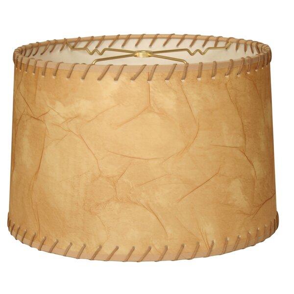 Linen Drum Lamp shade ( Spider ) in Brown