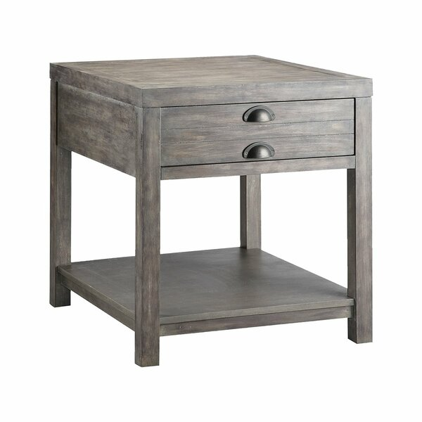 Yasmine Rectangular End Table By Gracie Oaks
