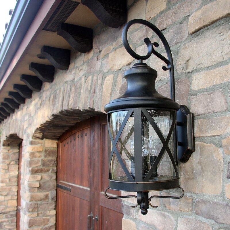 Three posts fairbury outdoor wall lantern reviews wayfair fairbury outdoor wall lantern workwithnaturefo