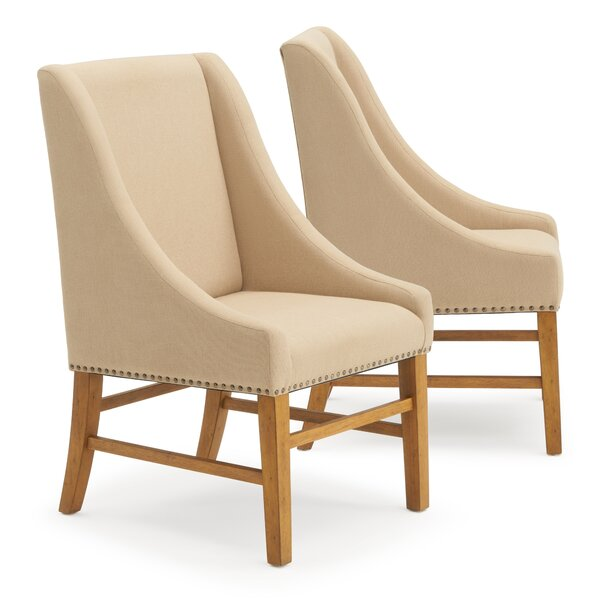 Amazing Silas Upholstered Dining Chair (Set Of 2) By One Allium Way Spacial Price