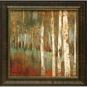 'Along the Path I' Framed Painting Print by Charlton Home