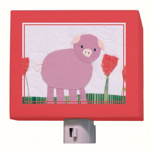 Compare prices Piggy Night Light By Oopsy Daisy