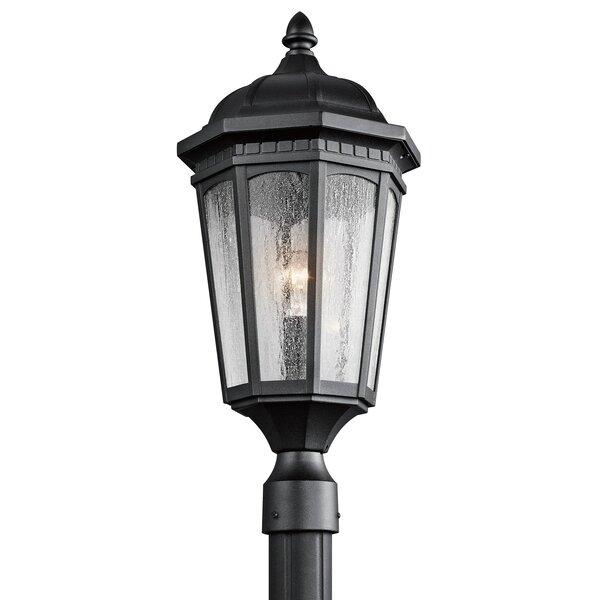Courtyard Outdoor 1-Light Lantern Head by Kichler