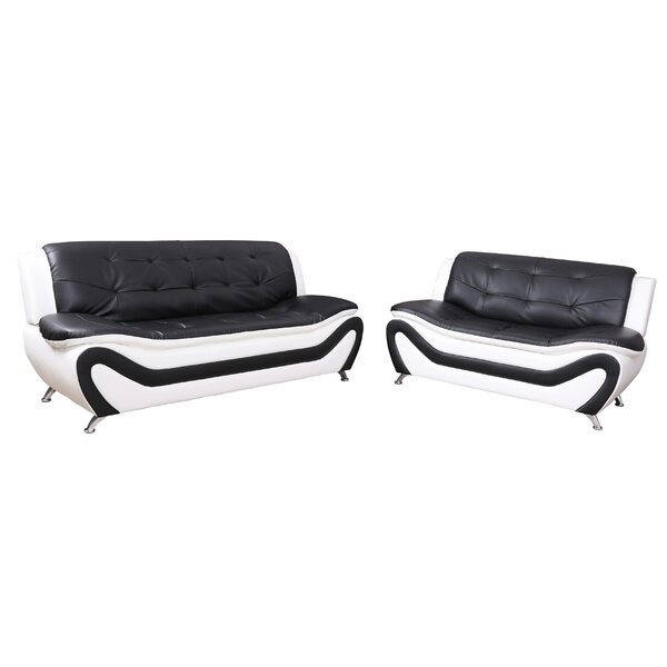 Airlia 2 Piece Living Room Set by Orren Ellis