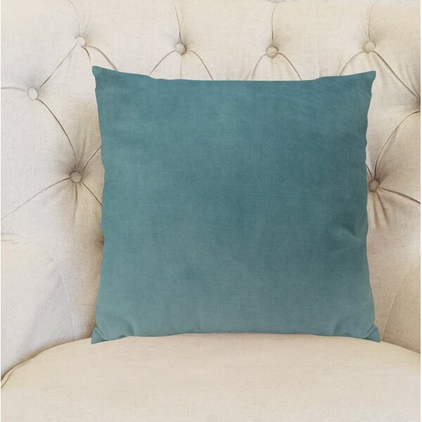 Contentment Peacock Handmade Cotton Throw Pillow by Plutus Brands