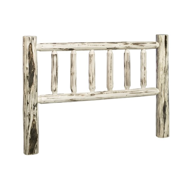Tustin Log Slat Headboard by Loon Peak