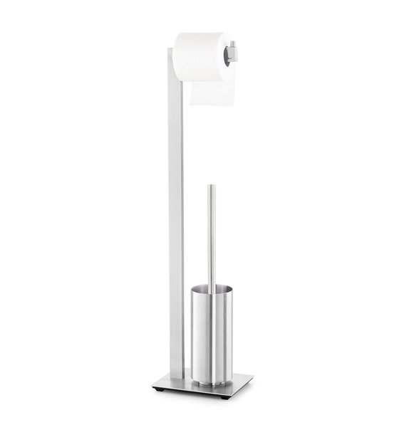 Linea Free Standing Toilet Brush Set by ZACKLinea Free Standing Toilet Brush Set by ZACK