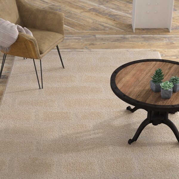 Eisley Cream Area Rug by Williston Forge