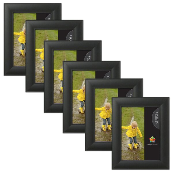Ligne Wood Picture Frame (Set of 6) by Uniek