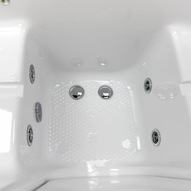 Ella Walk In Bath Tub4Two Two Seat Outward Swing Door Hydro Massage ...