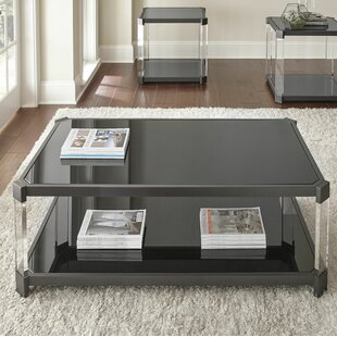 Reviews Isadore Coffee Table by Wade Logan