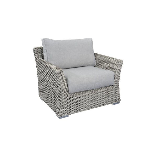 Searle Olefin Patio Chair with Cushions by Ivy Bronx