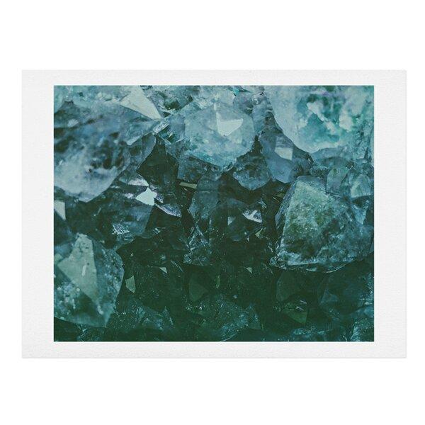 Aquamarine Gemstone Photographic Print by East Urban Home