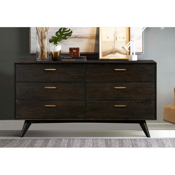 Byer 6 Drawer Double Dresser by Corrigan Studio