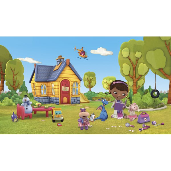 Walt Disney Kids Ii Doc Mcstuffins 10 5 X 72 Wall Mural By York Wallcoverings.