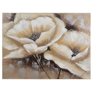 'Full Bloom I' Painting on Wrapped Canvas by Andover Mills