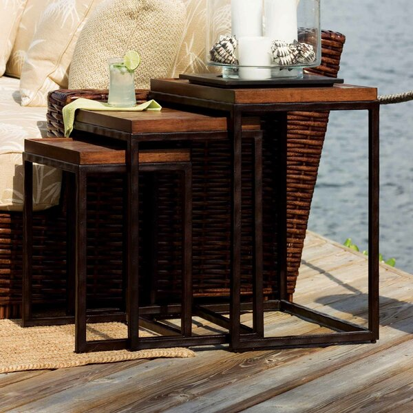 Ocean Club Nesting Tables (Set Of 3) By Tommy Bahama Home #1