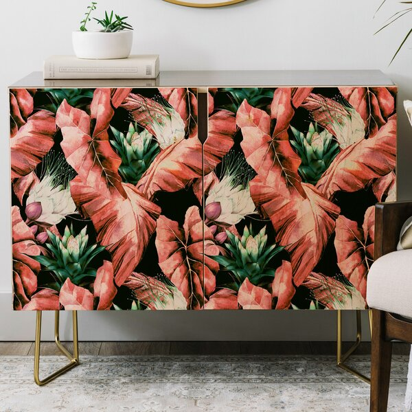 Marta Barragan Camarasa Tropical Credenza by East Urban Home East Urban Home