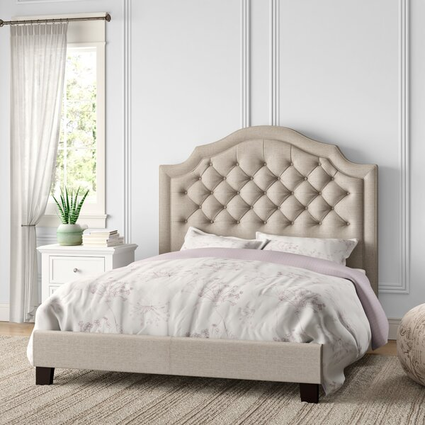 Swanley Upholstered Standard Bed By Andover Mills by Andover Mills Today Only Sale