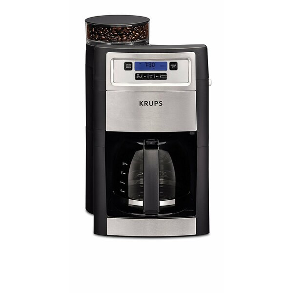 10-Cup Grind and Brew Automatic Machine by Krups