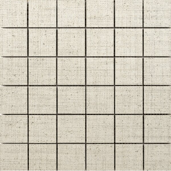 Canvas 2 x 2 Porcelain Mosaic Tile in Angora by Emser Tile