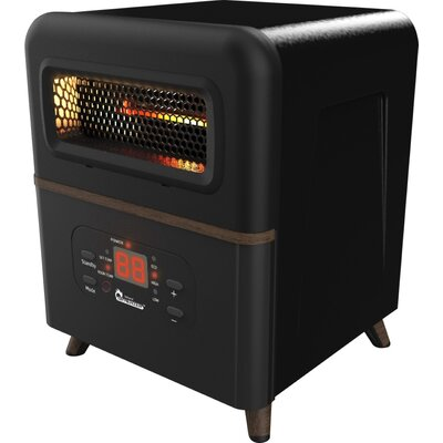Dr. Infrared Heater Dual Hybrid Space 1,500 Watts Electric Infrared Compact Heater