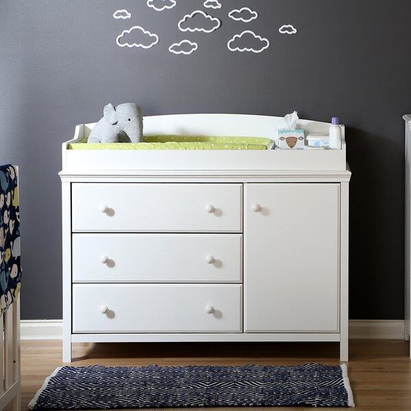Cotton Candy Changing Table by South Shore