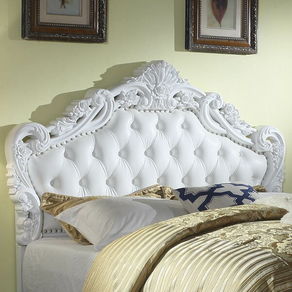 Paladin Classic Style Queen Upholstered Panel Headboard by Astoria Grand Astoria Grand