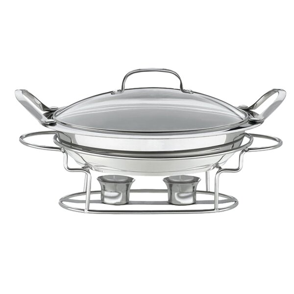 Classic Entertaining Round Buffet Server By Cuisinart.