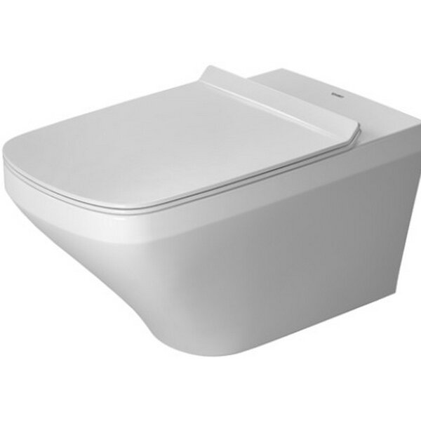 DuraStyle Wall Mounted Washdown Model Rimless Dual Flush Elongated Toilet Bowl by Duravit