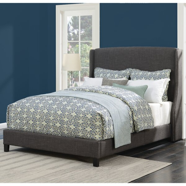 Dressler Queen Upholstered Platform Bed by Darby Home Co