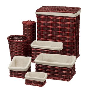 Wicker Laundry Set By Honey Can Do
