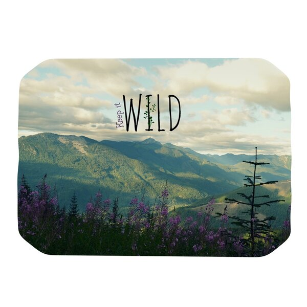 Keep It Wild Placemat by KESS InHouse