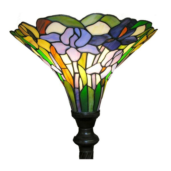Iris 72 Torchiere Floor Lamp by Warehouse of Tiffany