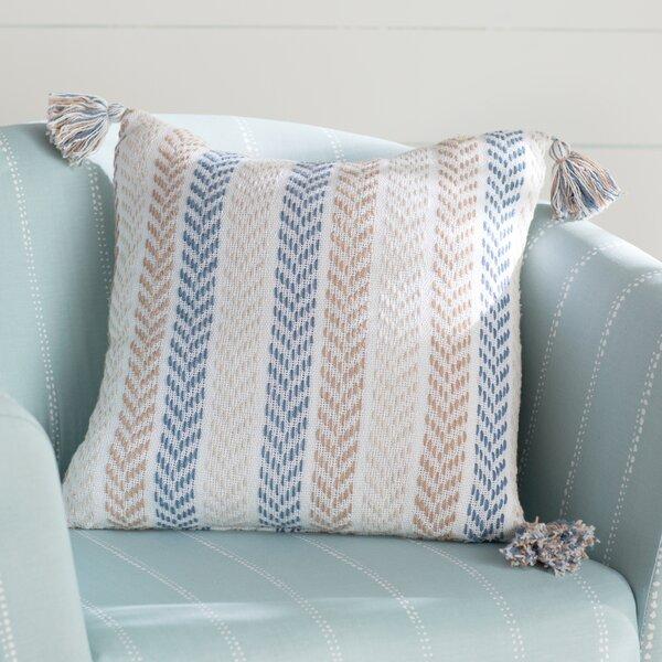 Lockwood Chevron Cotton Throw Pillow by Beachcrest